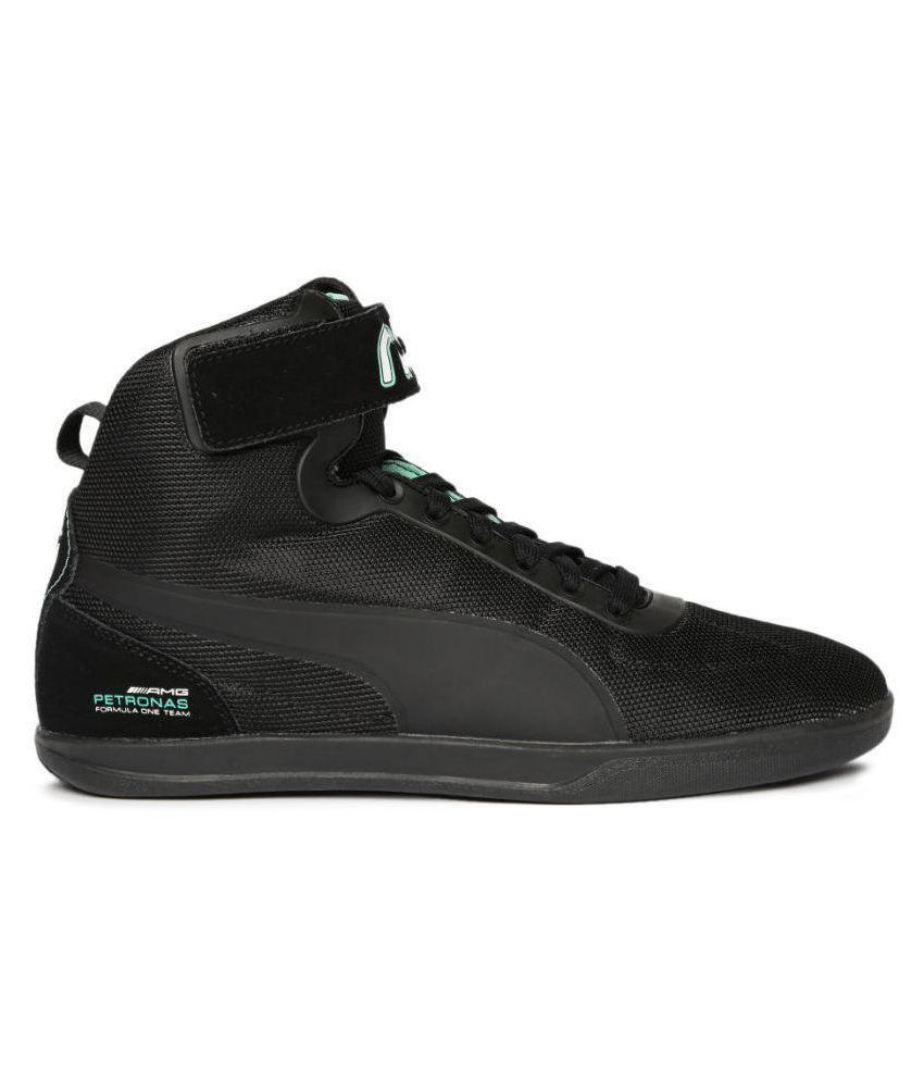 5b72e1a026d Puma Mercedes AMG Petronas Sneakers Black Casual Shoes - Buy Puma ...