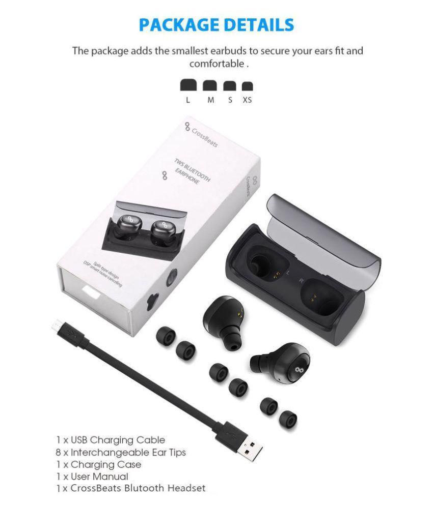 54a85b2e0f6 ... CrossBeats CrossBeats SoulTrue Wireless On Ear Wireless Headphones With  Mic ...