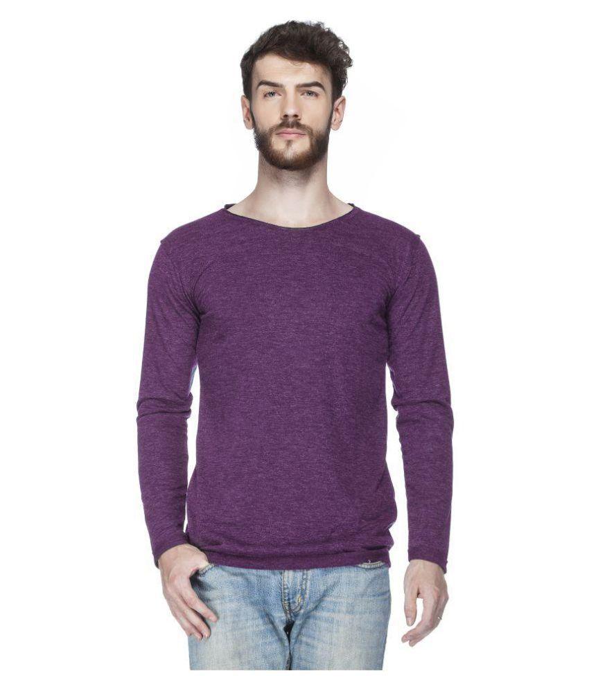 Tinted Purple Round T-Shirt