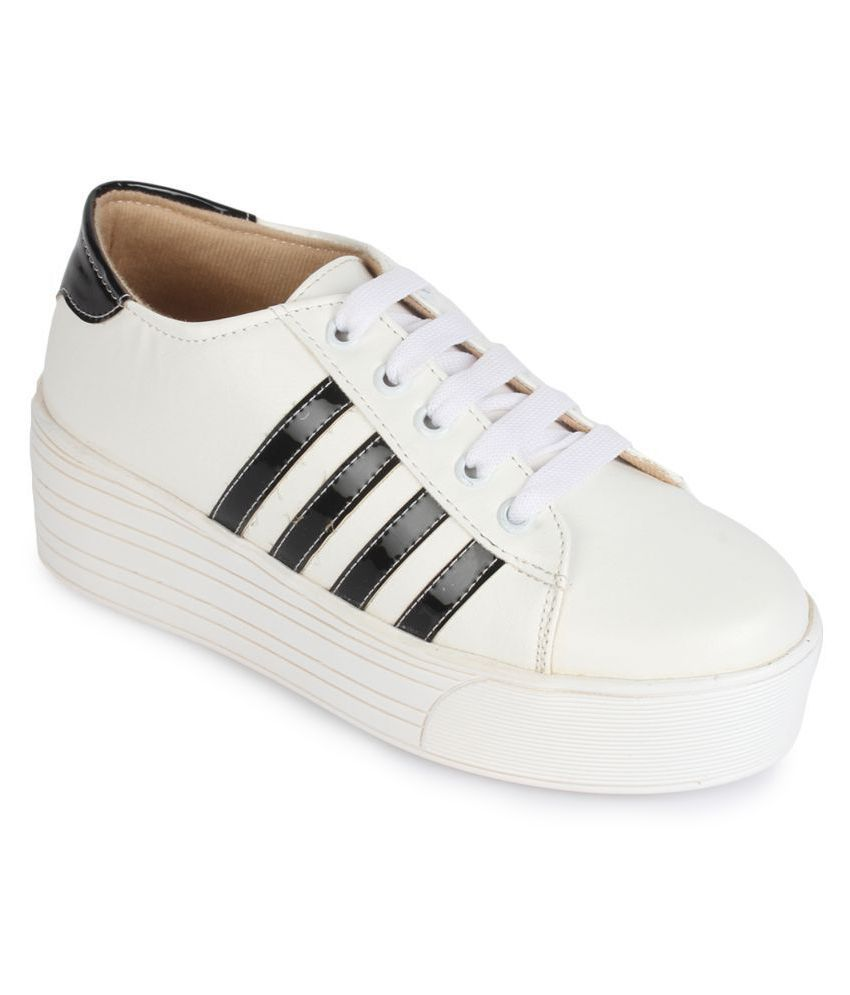 Sapatos White Casual Shoes
