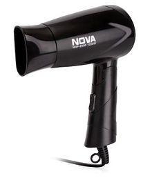 Nova NHP 8100 1200W Hair Dryer (Black)