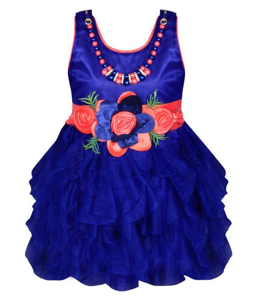 Cute Fashion Kids Baby Girls Princess Party Wear Flower Dresses ...