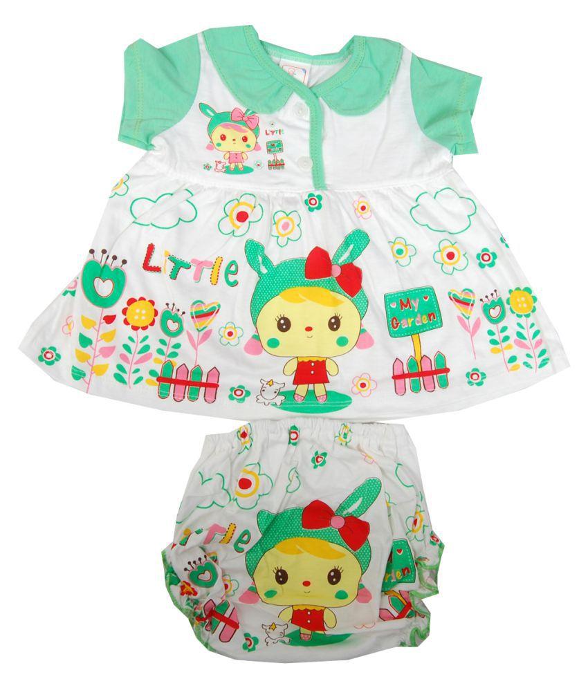 7c42c300cd60 Guru kripa Baby Beautifully Designed 100% Cotton Baby Girls Frock / Suit  Casual Wear Dress With Panty - Buy Guru kripa Baby Beautifully Designed 100%  Cotton ...