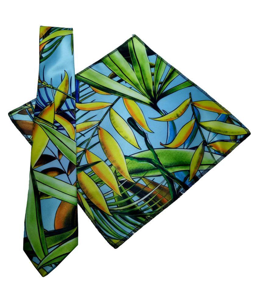 Mentiezi Multi Printed Micro Fiber Necktie