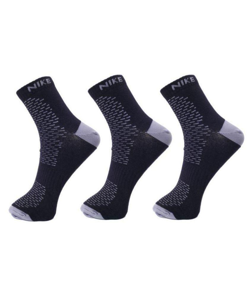 Nike Black Casual Ankle Length Socks