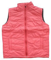 FREEDOM FASHION Pink Quilted & Bomber Jacket