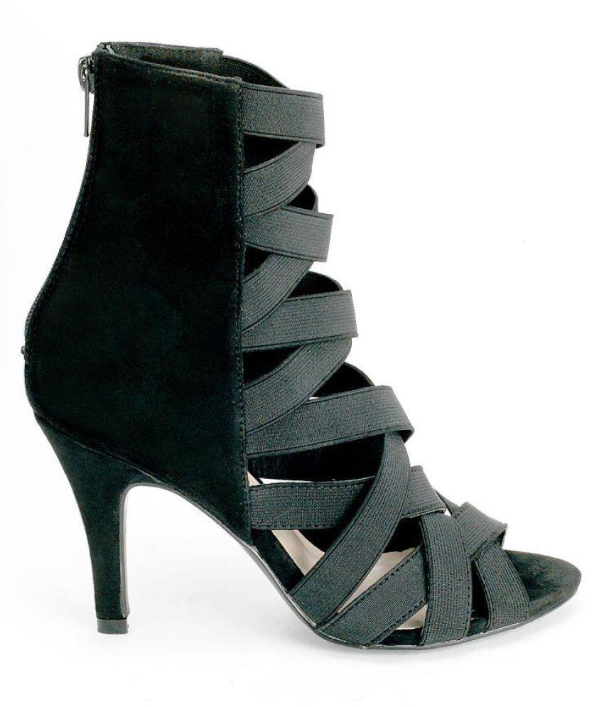 Cocoon Black Platforms Heels