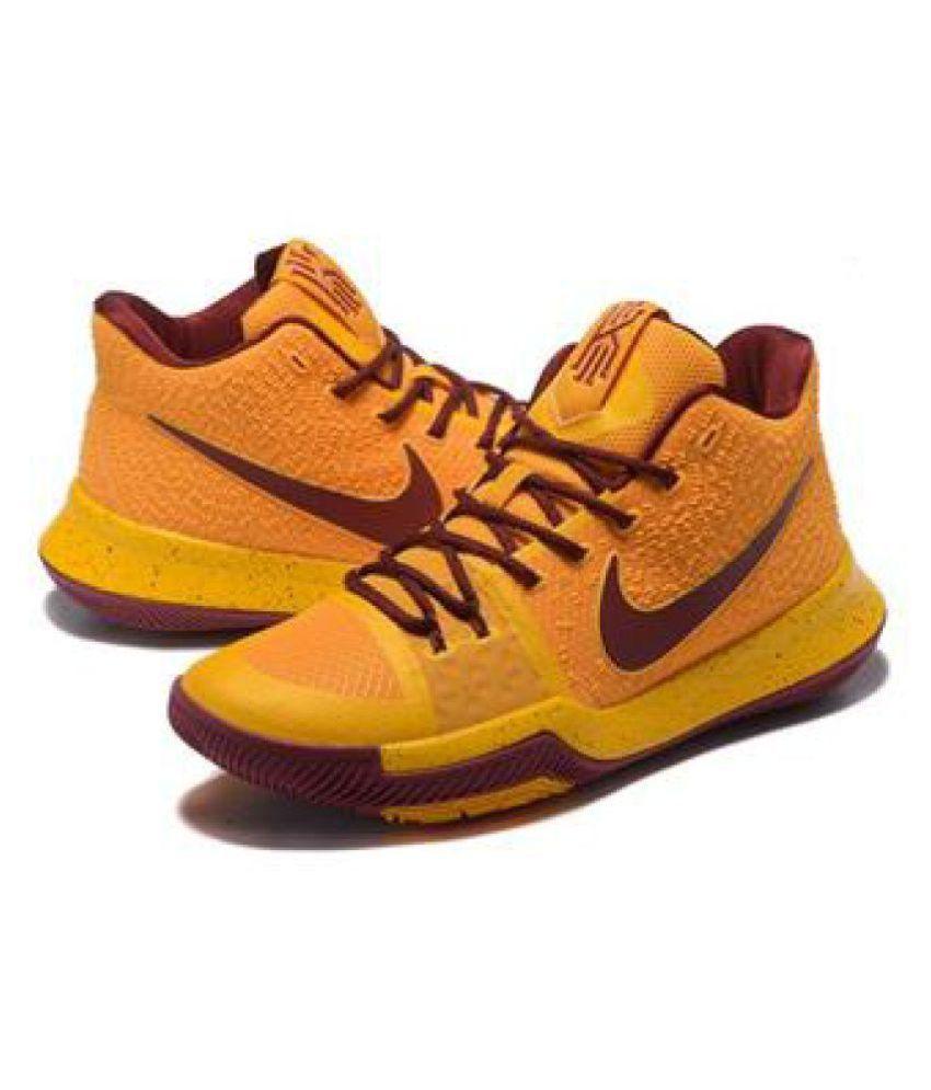 Nike KYRIE IRVING 3 Yellow Running