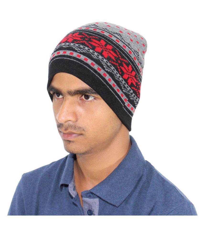 Goodluck Multi Plain Wool Caps