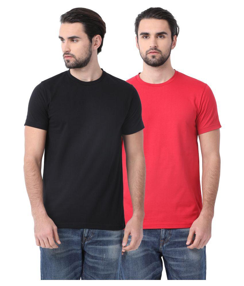 SWISS CLUB Multi Round T-Shirt Pack of 2