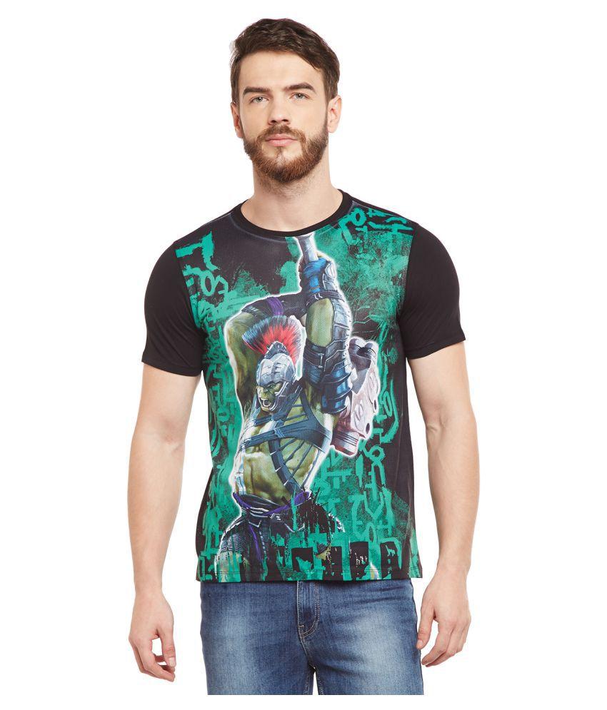 Marvel Avengers Green Round T-Shirt Pack of 1