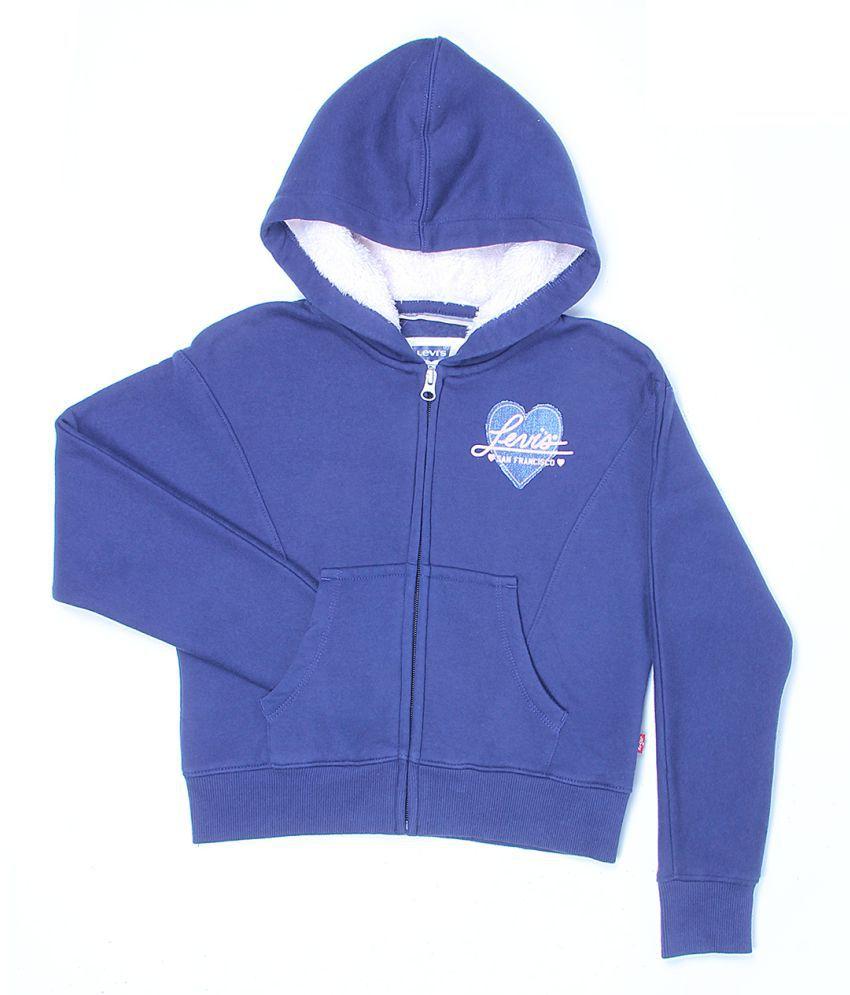 Levi's Girls Purple Sweat Shirt