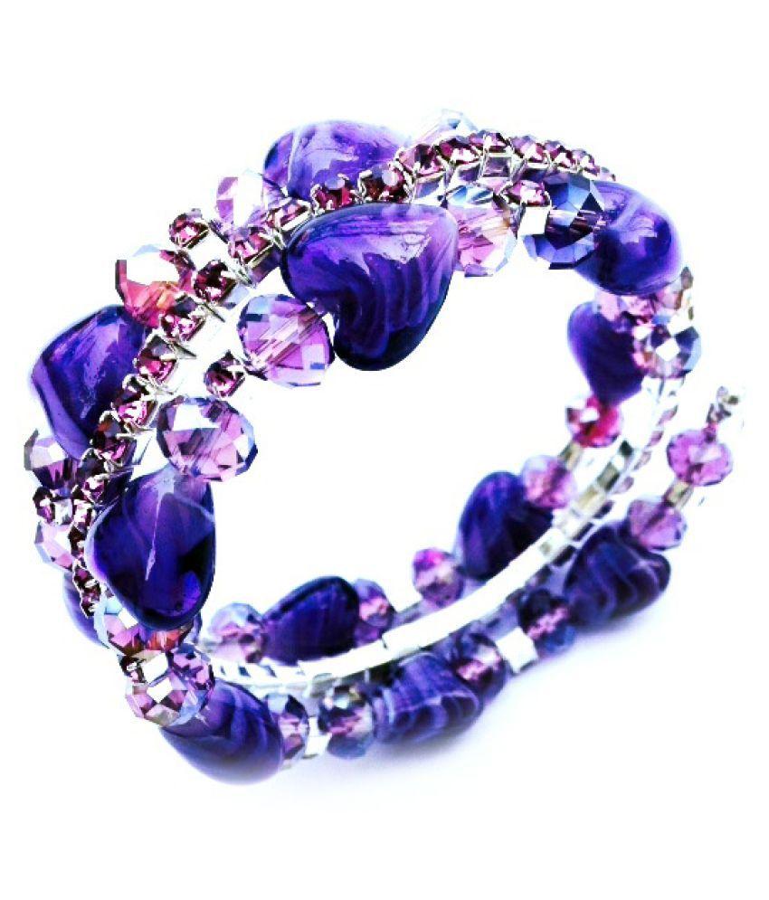 Indeavour Violet Shade Adjustable Bracelet