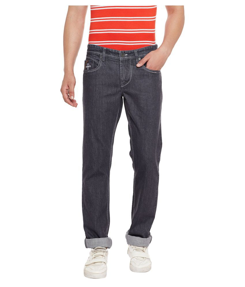 Canary London Black Straight Jeans