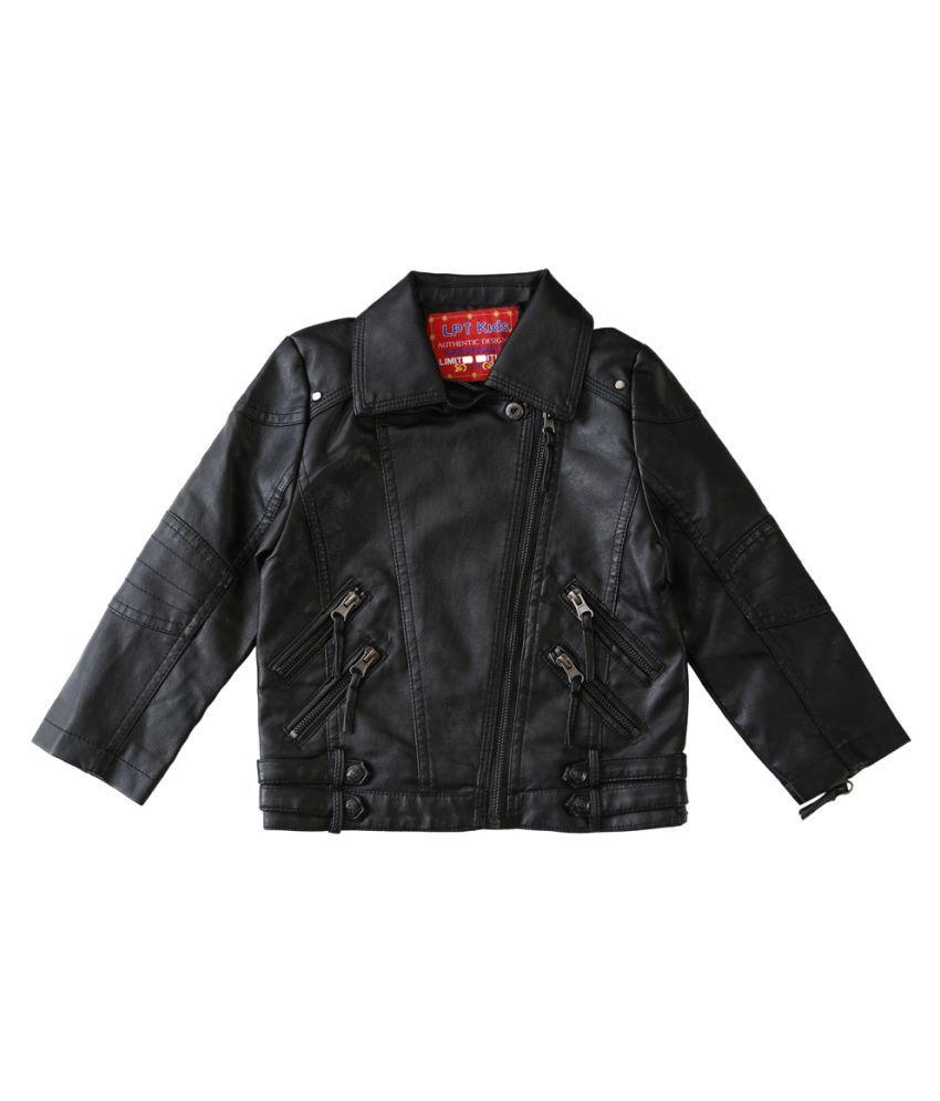 Lilliput Black  Kids  Jacket