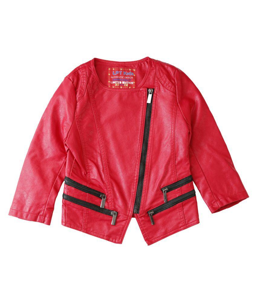 Lilliput Red  Kids  Jacket
