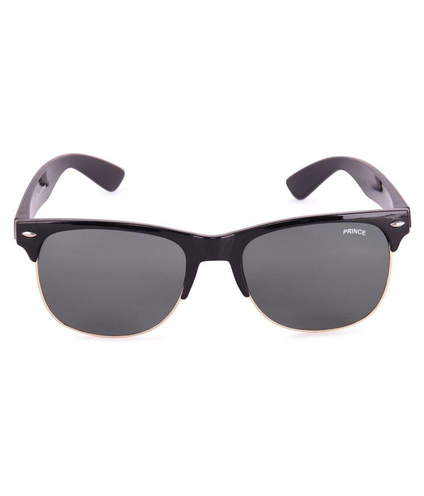 PRINCE ENTERPRISES Black Clubmaster Sunglasses ( PEOLDCBBLBLGD )