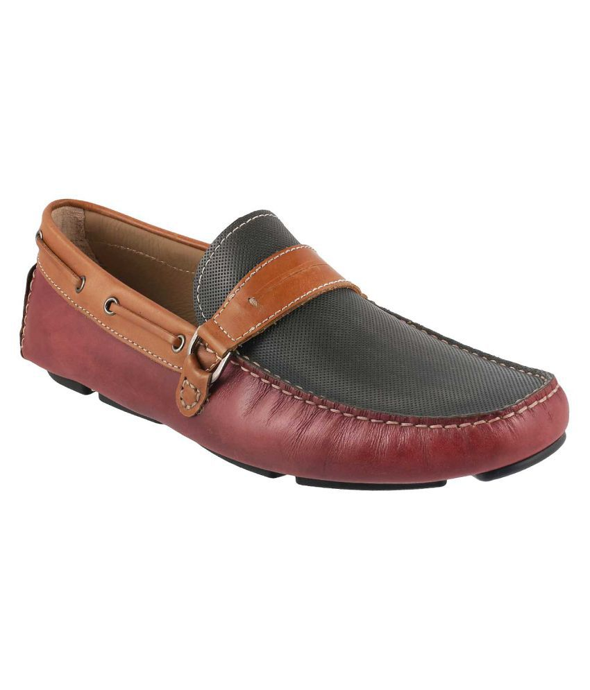 686e6bf3a59 J Fontini MAROON Loafers - Buy J Fontini MAROON Loafers Online at Best  Prices in India on Snapdeal