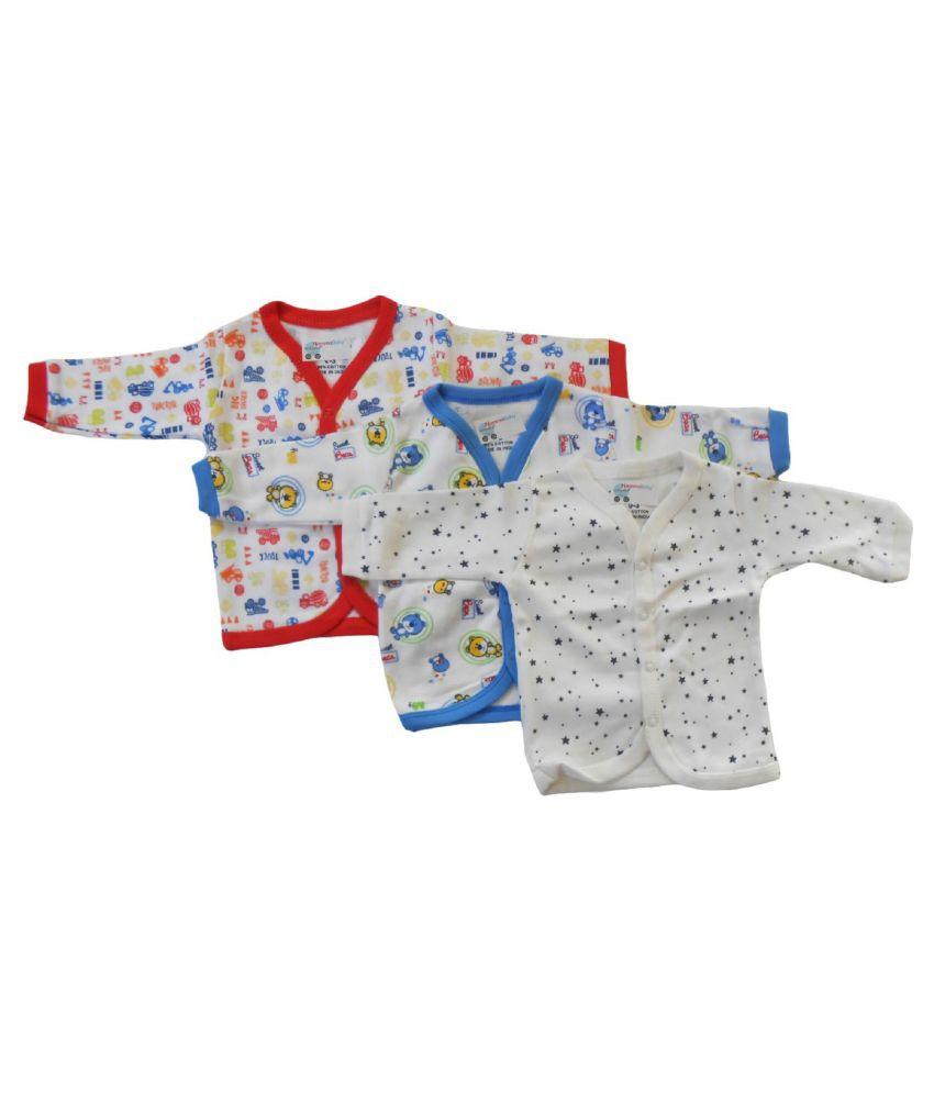 RBC RIYA R  Babies Cotton Jhabla set of 6