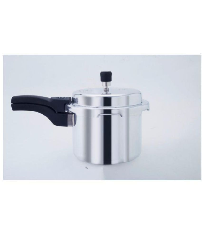 Rajesh King Of Kitchen Outer Lid 3 Ltr Aluminium Pressure Cooker 3