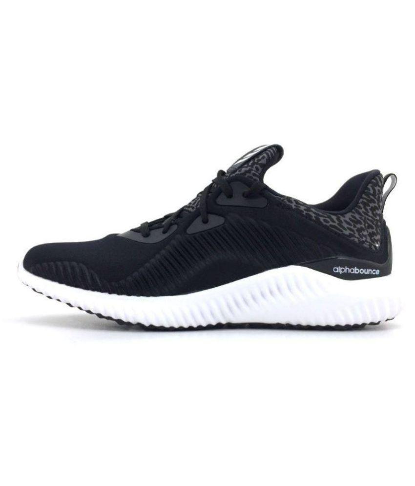 adidas alphabounce mens black