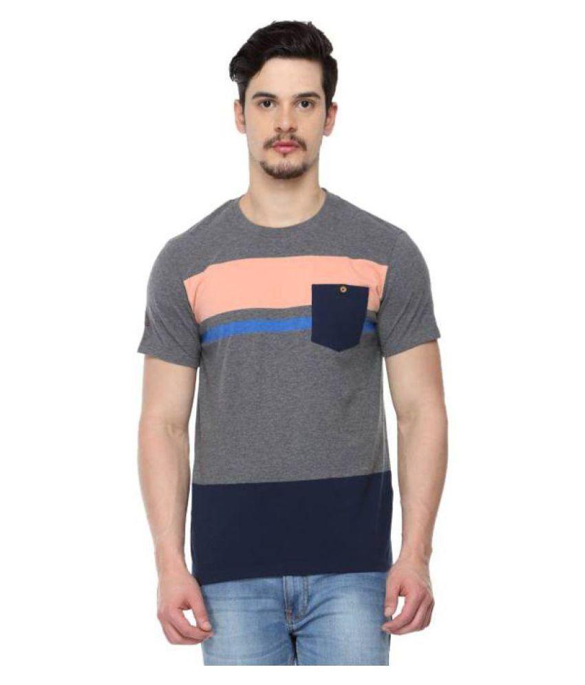 ODAKA Multi Round T-Shirt Pack of 1