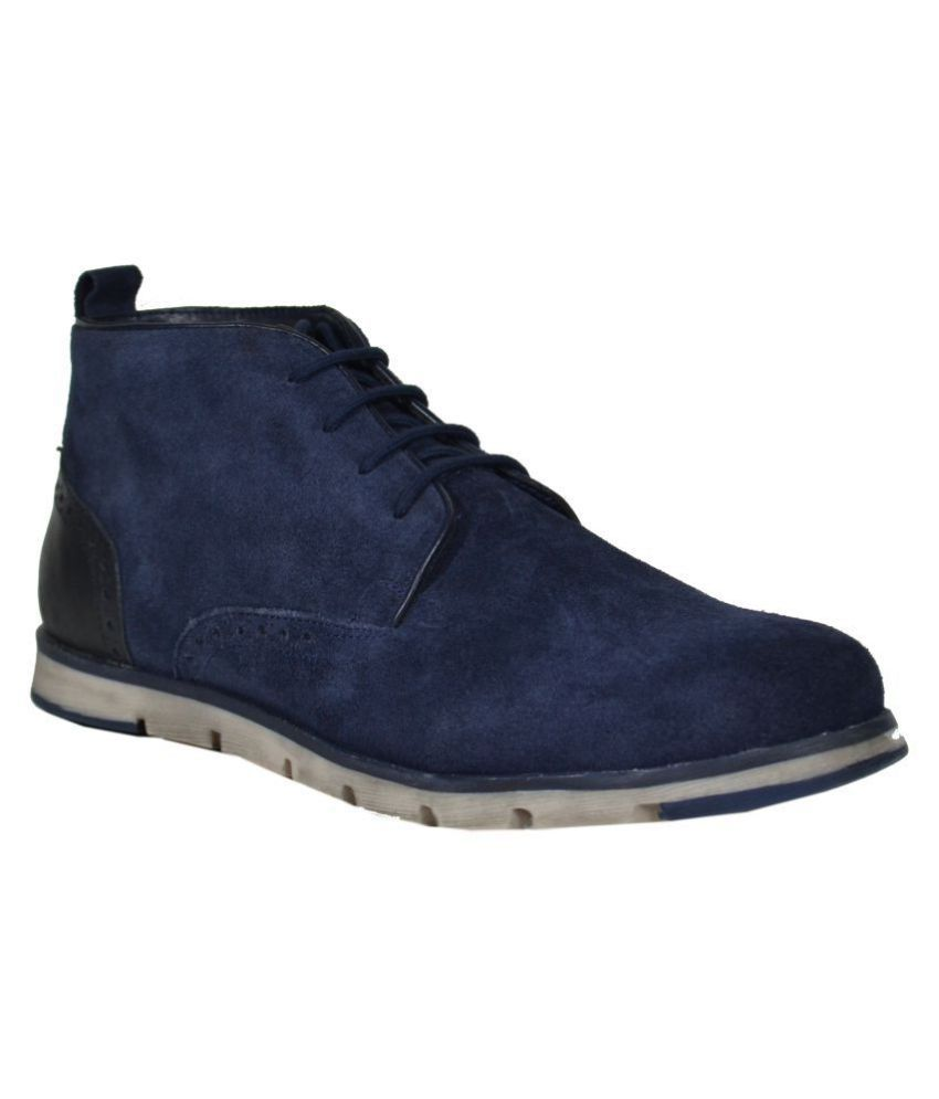 TSF Navy Casual Boot
