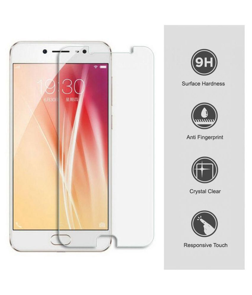 VIVO 5s Tempered Glass Screen Guard By Cristel4D