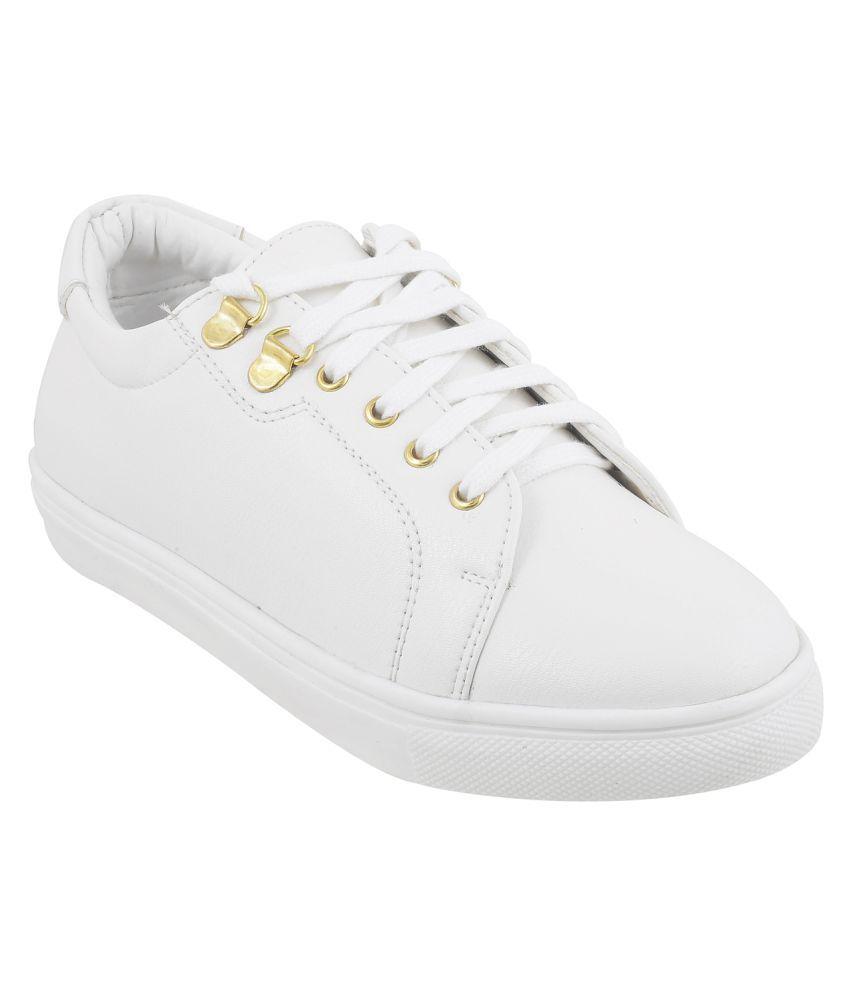 MOCHI WHITE Casual Shoes Online at Snapdeal