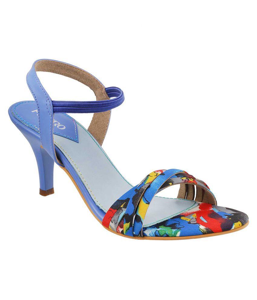 METRO BLUE Stiletto Heels