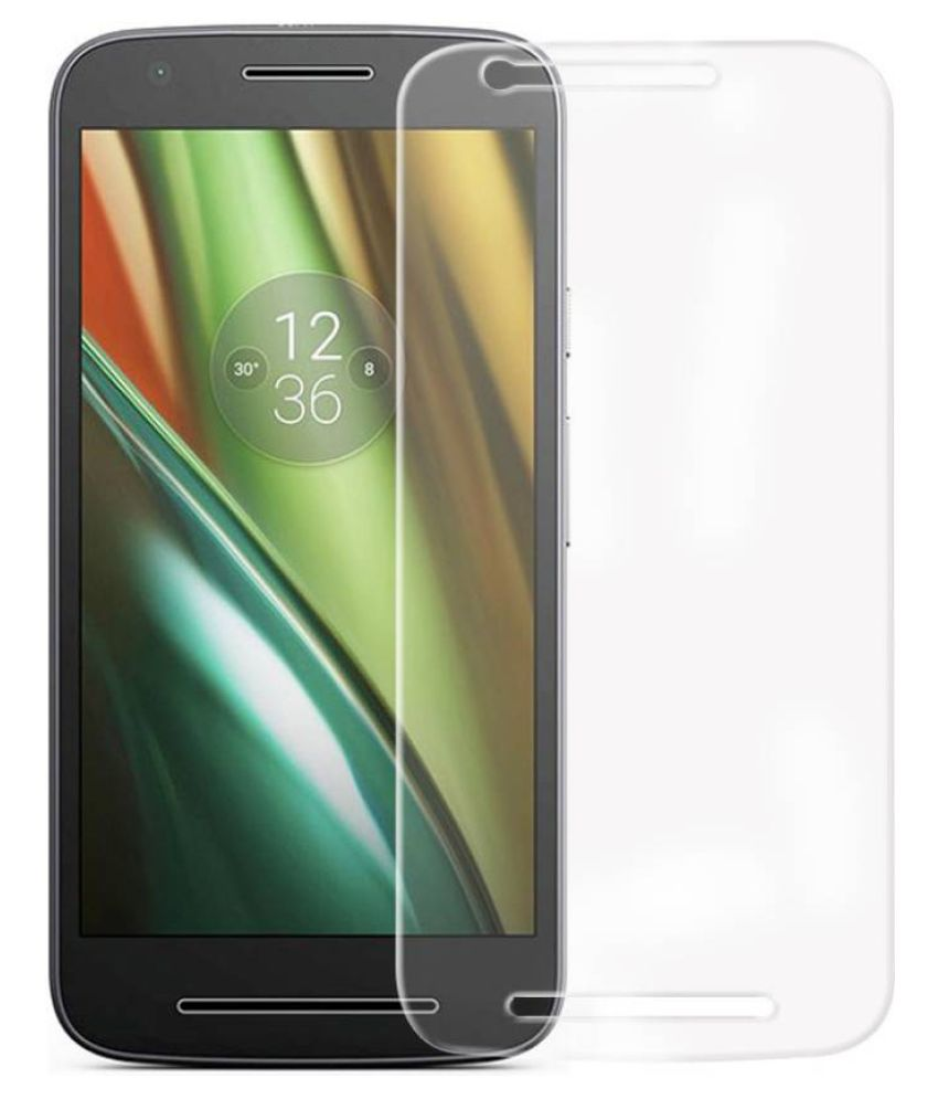 Moto E3 Power Tempered Glass Screen Guard By Cell Tech