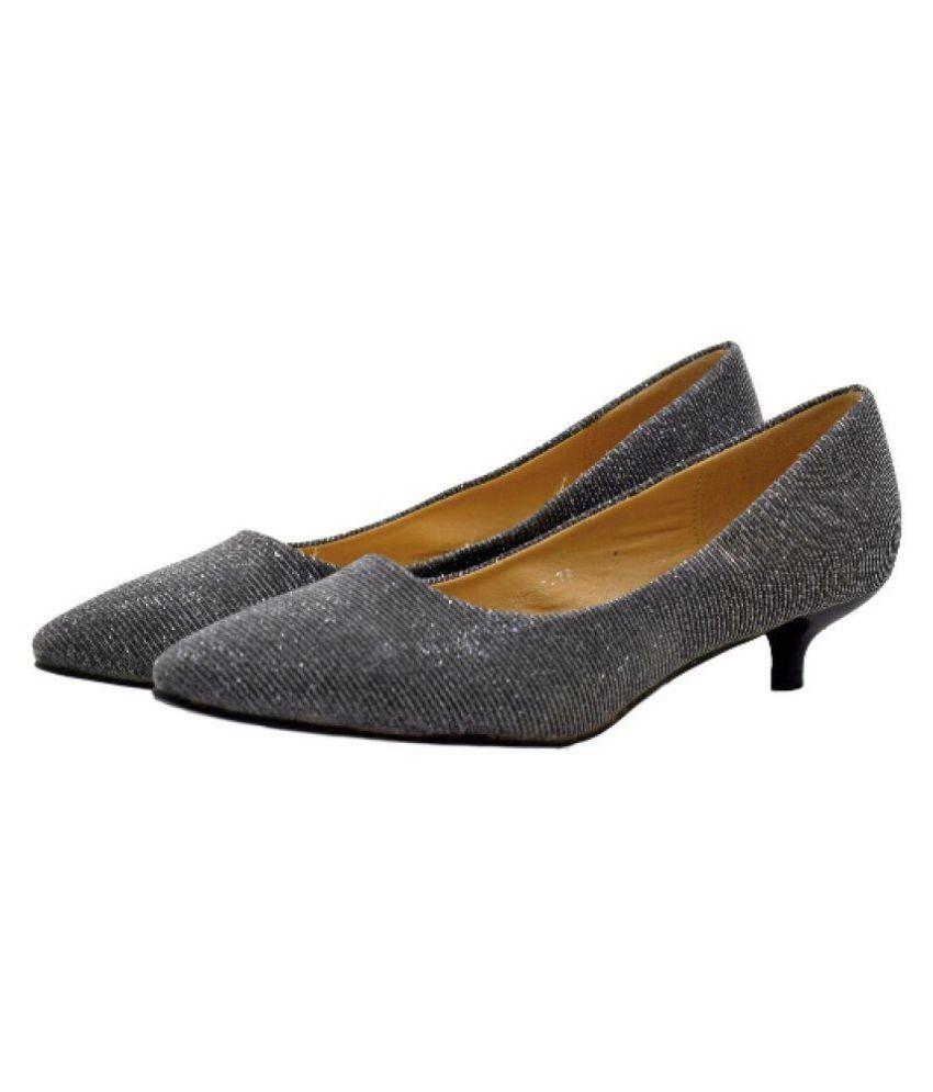 Fuel Vogue Gray Kitten Heels