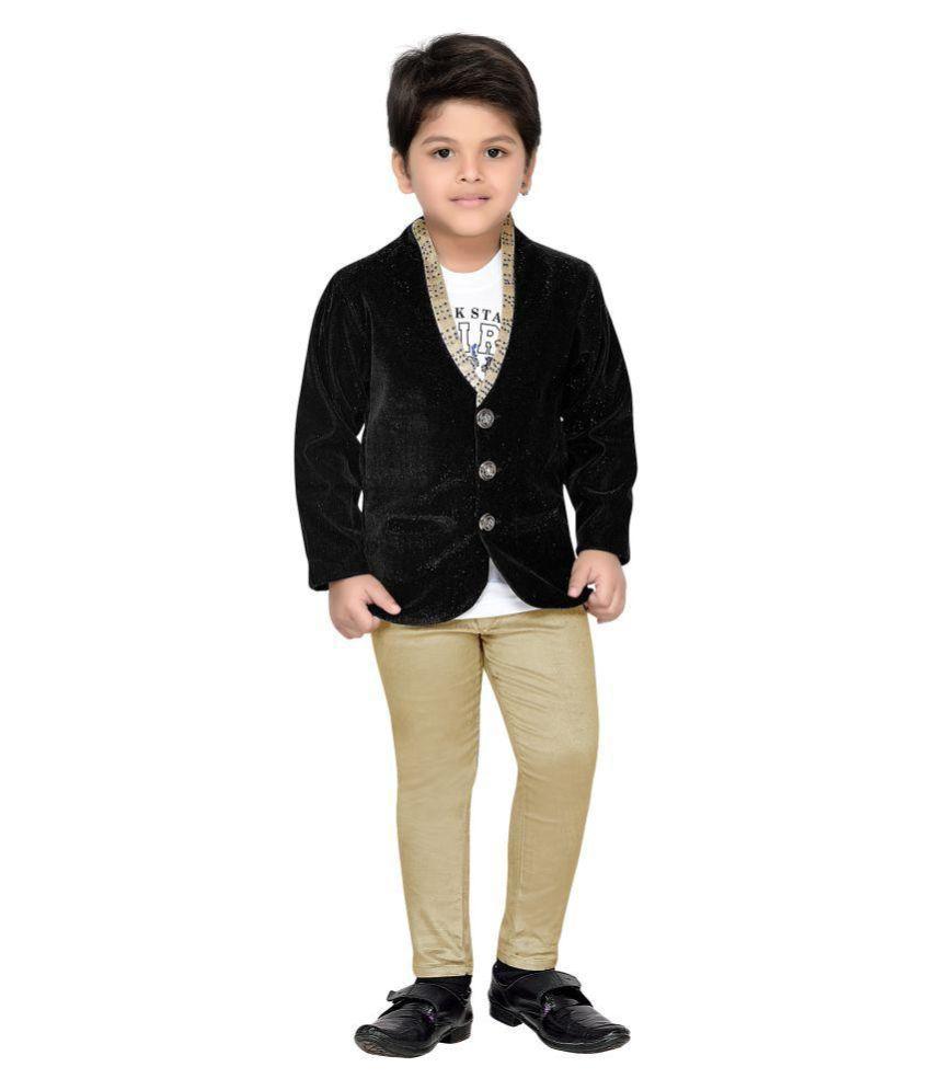 07b8947d84 AJ Dezines Kids Party Wear Suit Set For Boys - Buy AJ Dezines Kids Party  Wear Suit Set For Boys Online at Low Price - Snapdeal