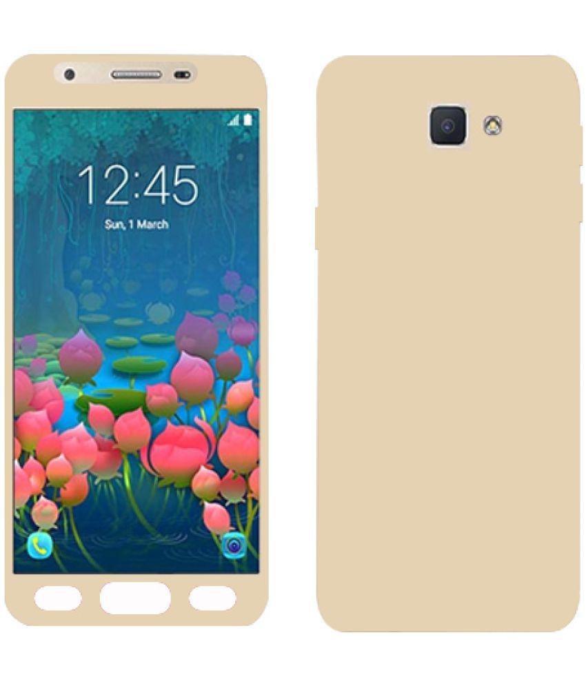 Samsung Galaxy J2 Pro Plain Cases Kosher Traders - Golden