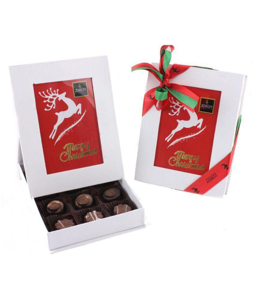 Zoroy Luxury Chocolate Photo box of 12 Assorted Box Christmas and new year gift 125 gm