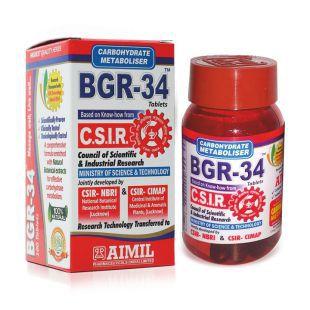 d1f2f6f66a4 BGR-34 Tablets- Natural Blood Glucose Regulator