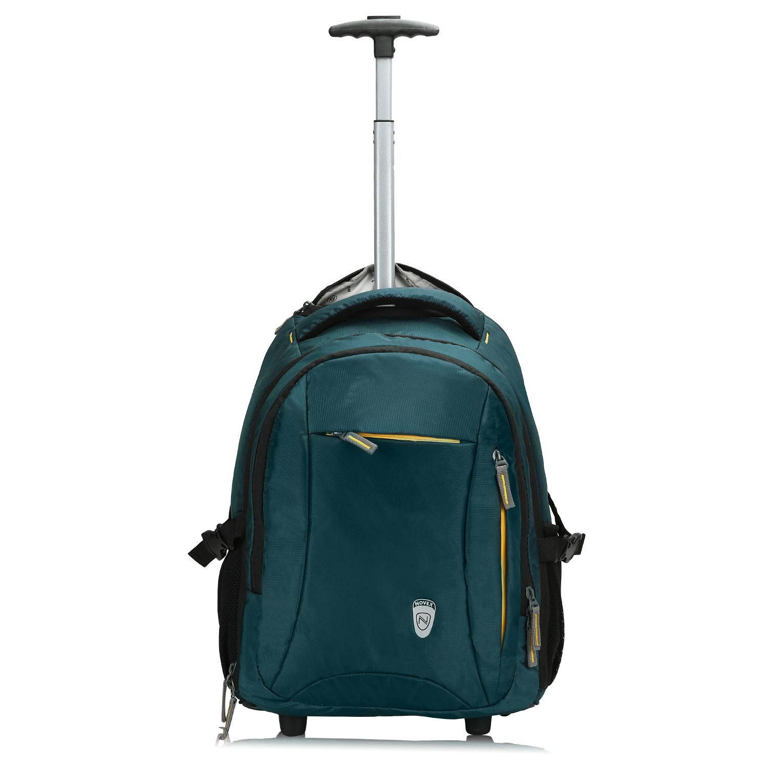 ba4025a1347 Novex Blue Polyester Trolley Backpack - Buy Novex Blue Polyester Trolley  Backpack Online at Low Price - Snapdeal
