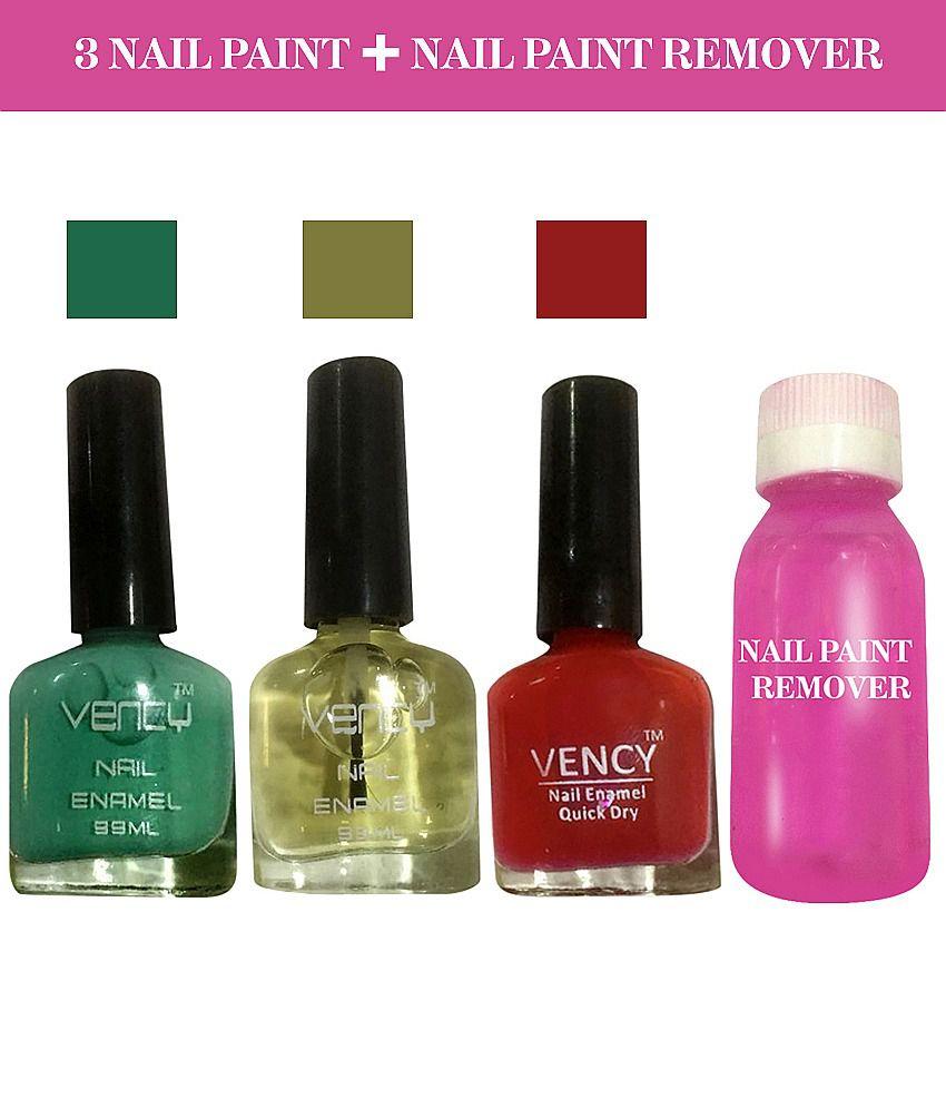 vency nail enamel Nail Polish Glossy 250 gm: Buy vency nail enamel ...