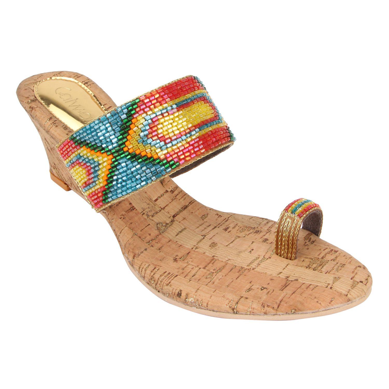 Catwalk Multi Color Ethnic Footwear