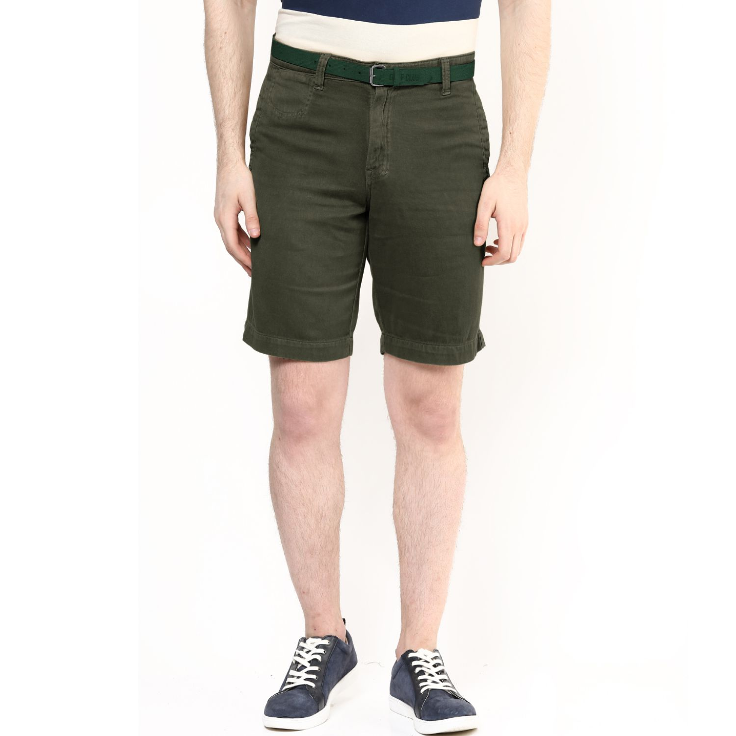 Wear Your Mind Green Shorts