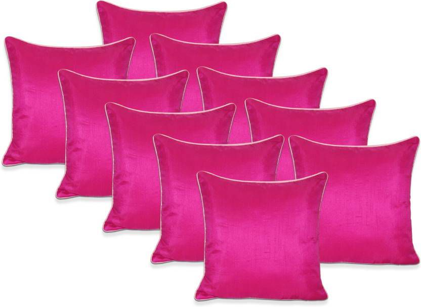 Siesta Set Of 10 Polyester Cushion Covers 40X40 cm (16X16)