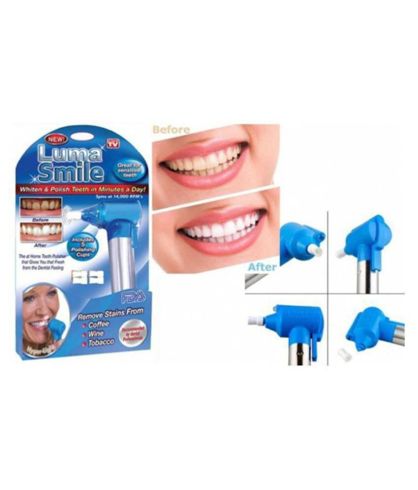 Shri Enterprises Luma Smile Teeth Whitening Plaque Remover