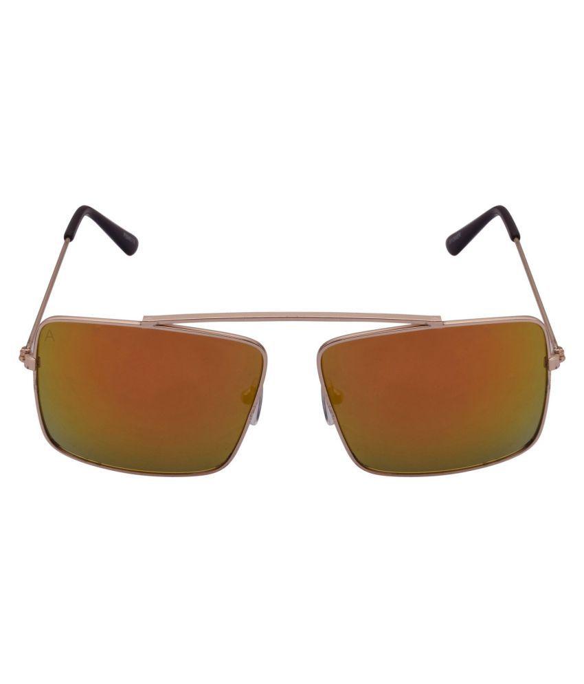 Grabito Multicolor Wayfarer Sunglasses ( RSGLDFYELL )