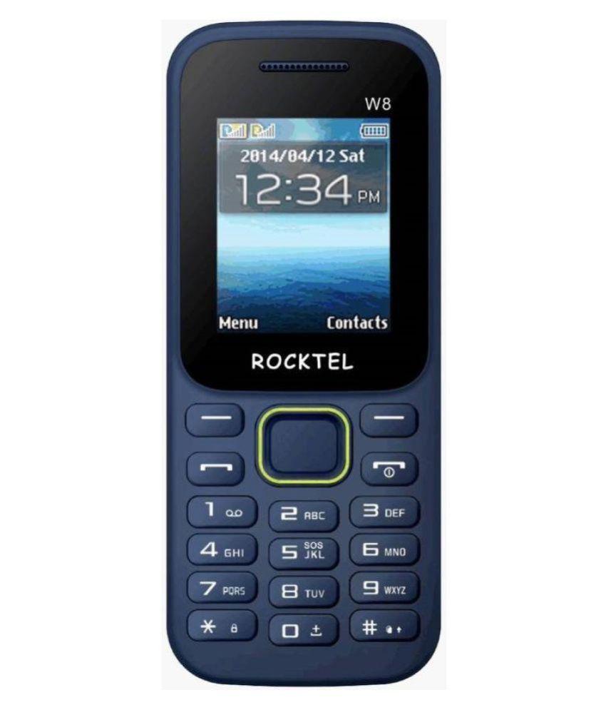 Rocktel Blue ROCKTEL W8 32 MB
