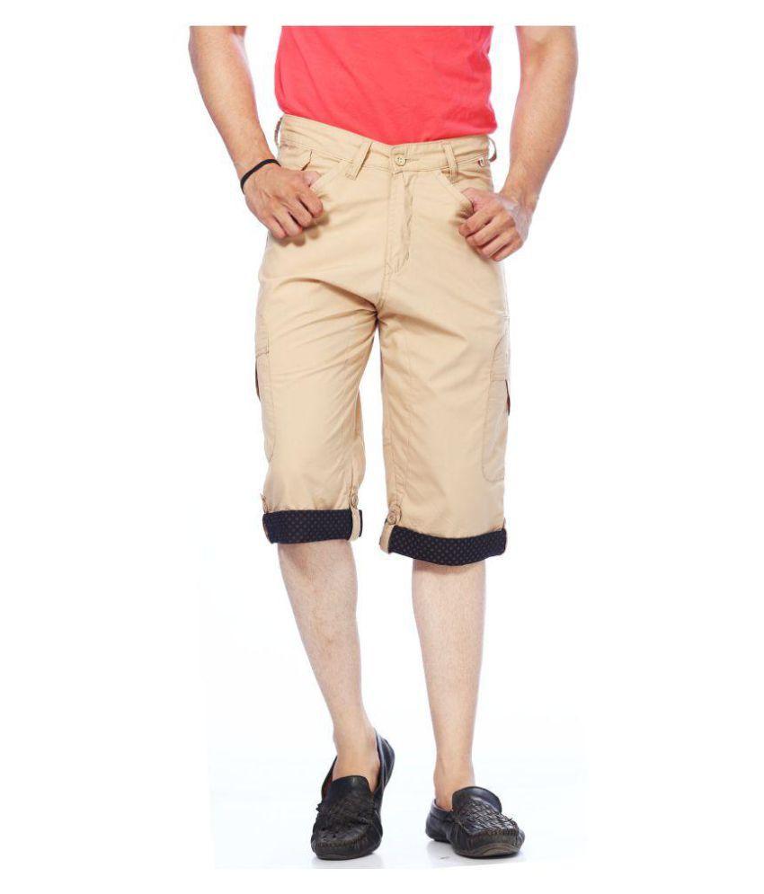 Unison Khaki Shorts Single