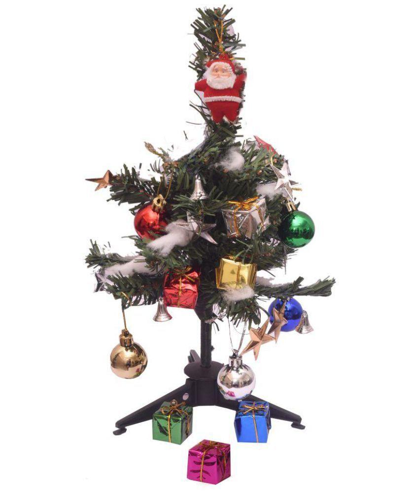 "Buy Christmas Tree India: Indigo Creatives 12"" Christmas Table Top Tree With 25"