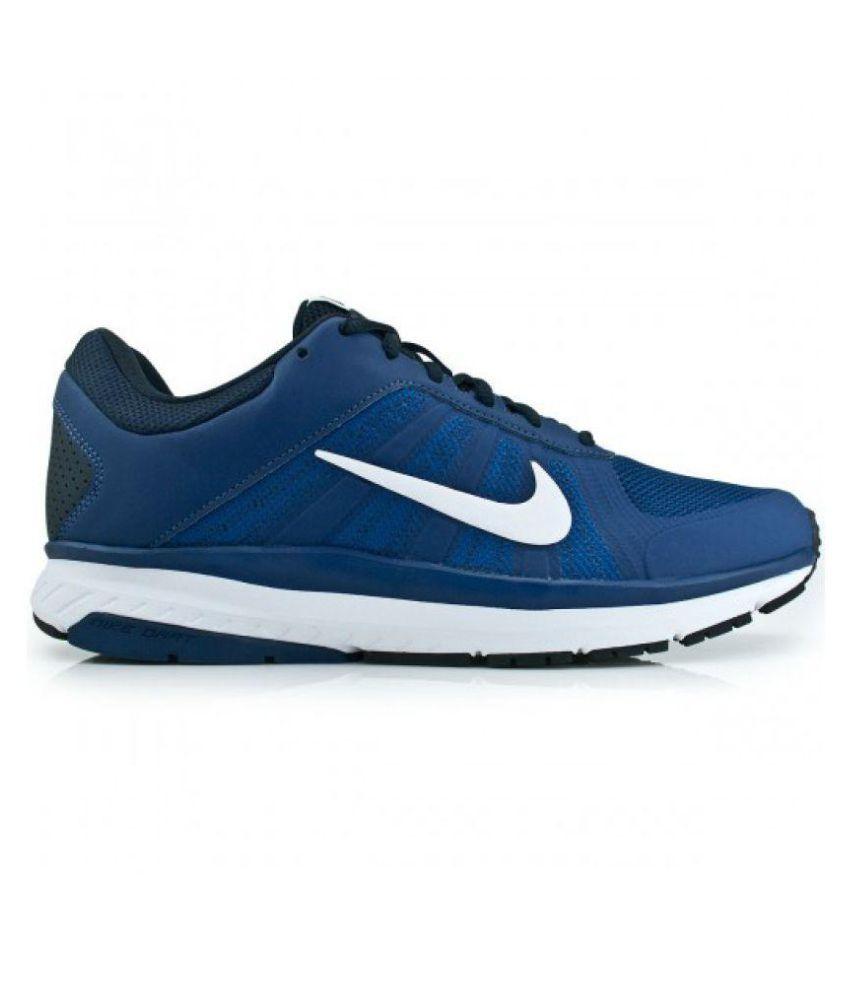 2e58608a99c8 Nike DART 12 MSL Blue Running Shoes - Buy Nike DART 12 MSL Blue ...