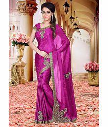 SareeShop Designer SareeS Pink Silk Saree