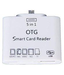 Storite otg card reader White NA Card Reader