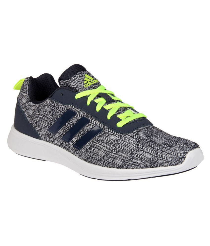 3e822f51a6b4d3 Adidas ADIRAY 1.0 M Gray Running Shoes - Buy Adidas ADIRAY 1.0 M Gray Running  Shoes Online at Best Prices in India on Snapdeal